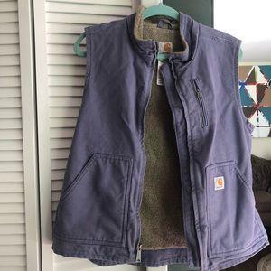 Women's purple Carhartt vest